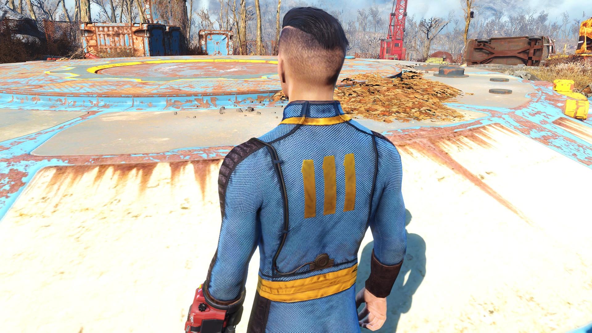 proto vault suit fallout 4 fo4 mods