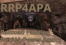 Railroad Painting for ALL Power Armors