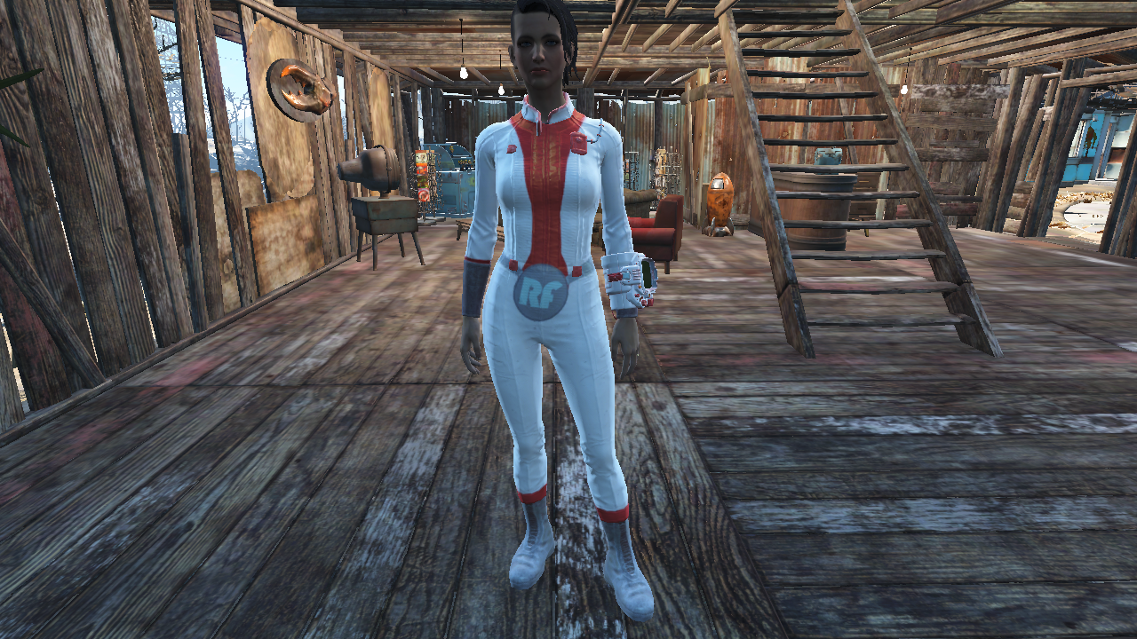 Rescue Girl Vault Suit Fallout 4 Fo4 Mods