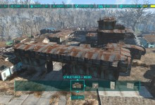 Sanctuary Shanty town (Without unlimited size mod)