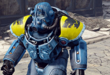 Space Wolf Power Armor Paint