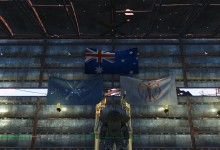 USA FLAG RE-PLACER- AUSSIE FLAG