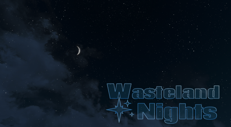 Wasteland Nights - moon and stars textures