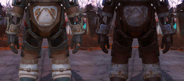 Weathered Power Armor frame