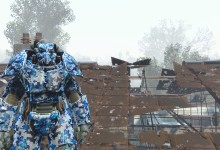 X-01 Blue Digital Camo Paintjob (standalone no replacer)