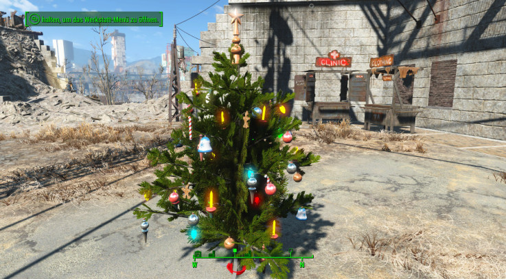 Xmas Trees in Settlement Builder 1