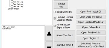 Yet Another Fallout 4 Mod Manager (YAFOMM) 1