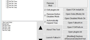 Yet Another Fallout 4 Mod Manager (YAFOMM) 2