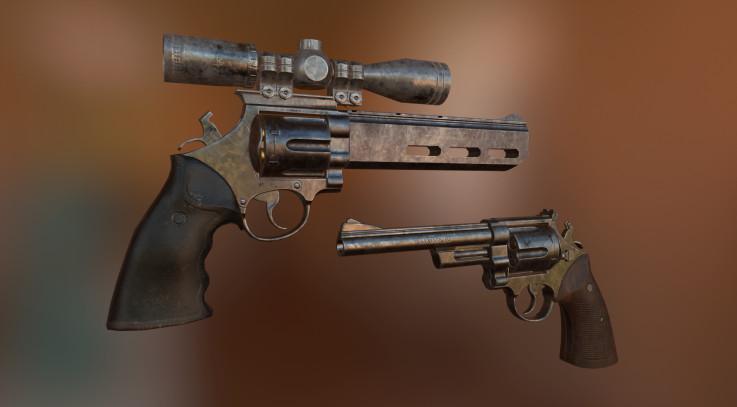 44 Magnum Retexture