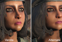 Alternate Female Face Textures