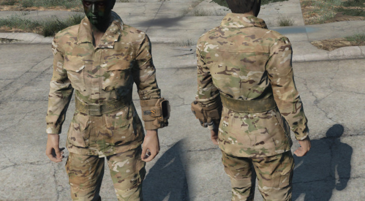 Army Multicam Military Fatigues