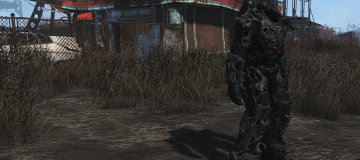 Black Titanium Power Armor Frame2