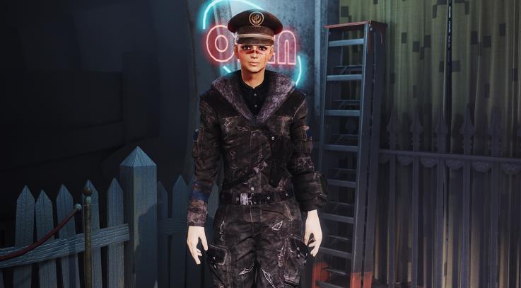 Dark Submariner Uniform (Standalone Armour)