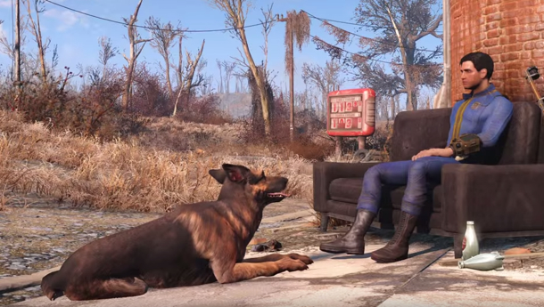 Dogmeat Distance from Player