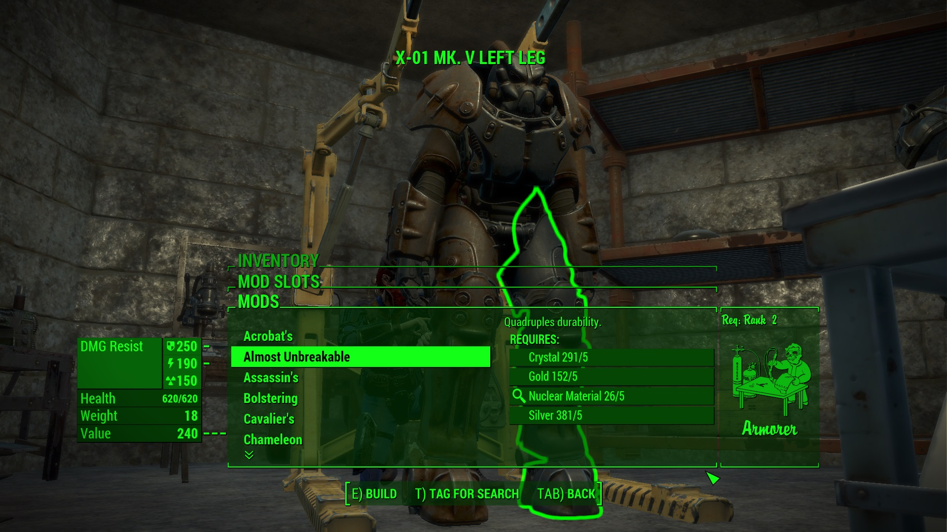 Fallout  Craft Weapons