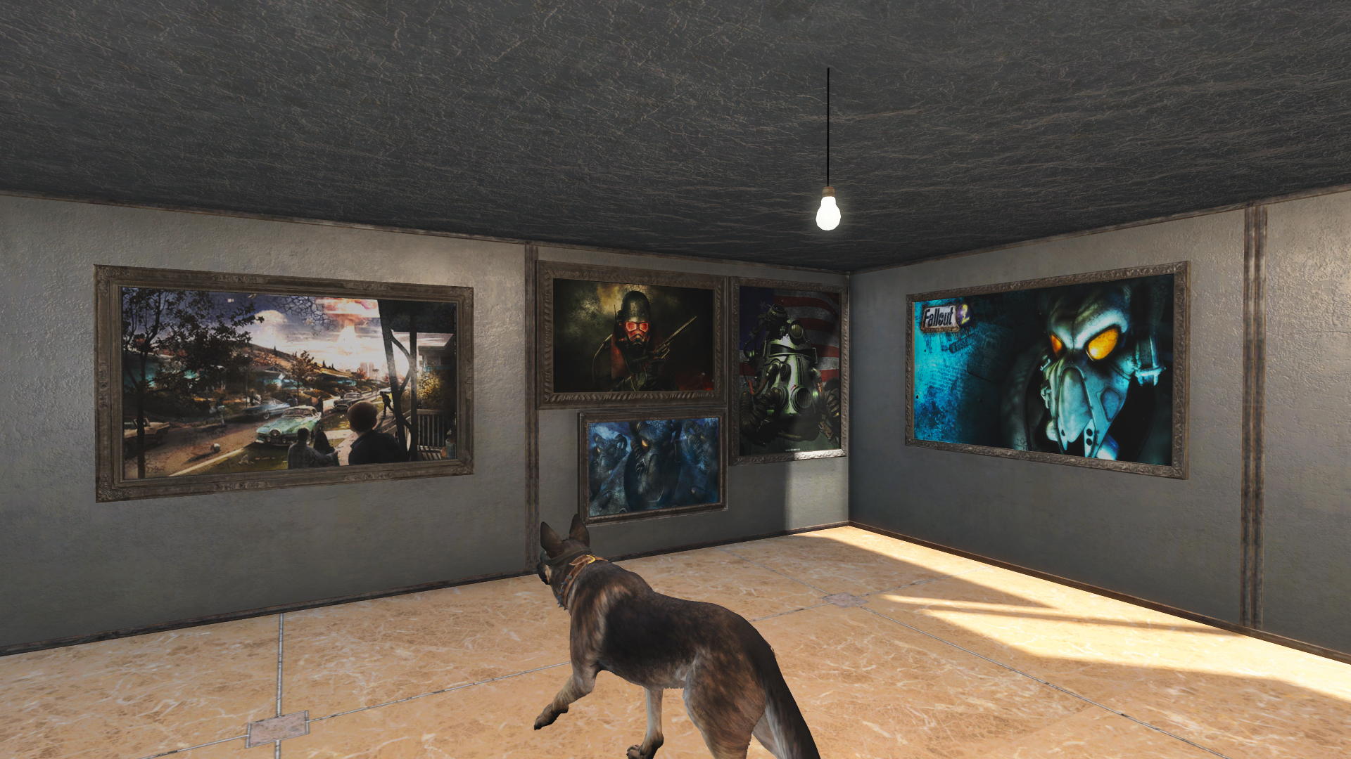 Fallout Themed Custom Paintings Fallout 4 Fo4 Mods