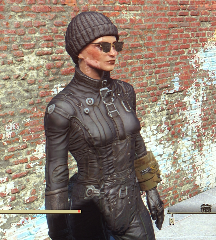 Gray Knit Cap Alternate Colors Fallout 4 Fo4 Mods