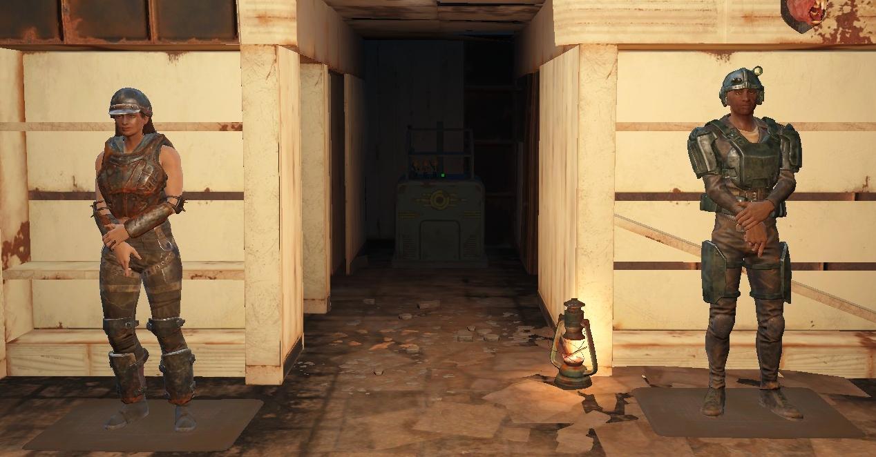 Guard Rug Fallout 4 Fo4 Mods
