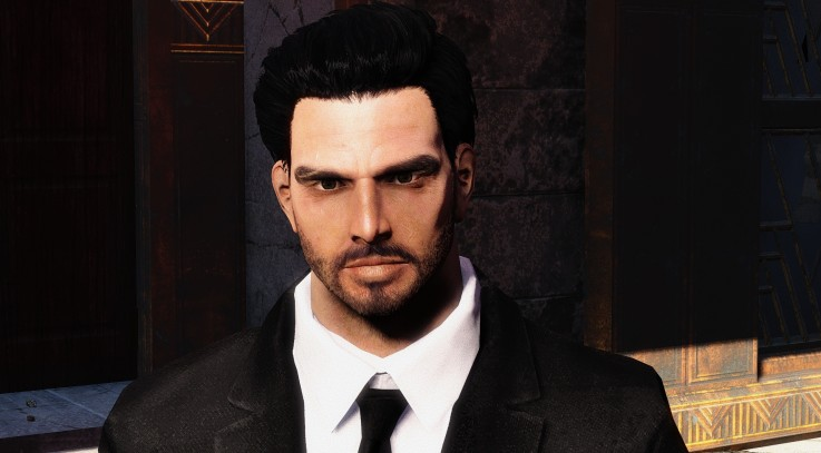 Handsome Danse - Cleaner Clearer Face Textures
