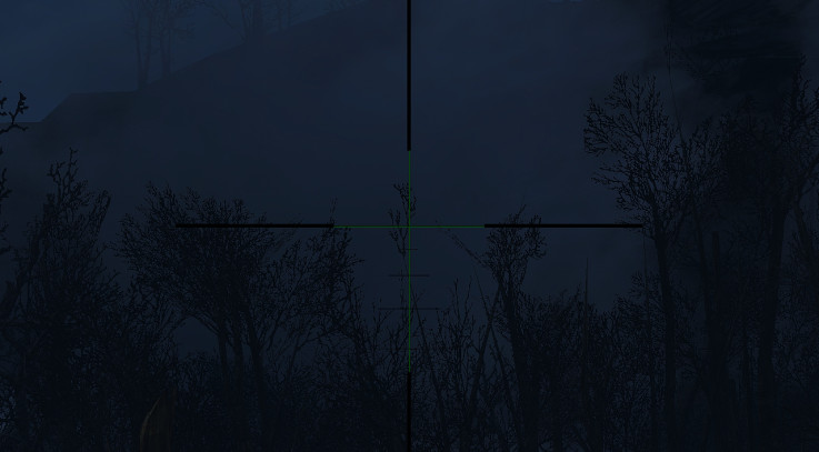 Improved Scope Reticules - Multiple Colors 3