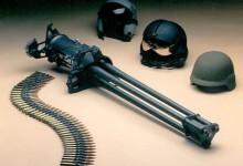 Minigun .50-Cal Tri-Barrel