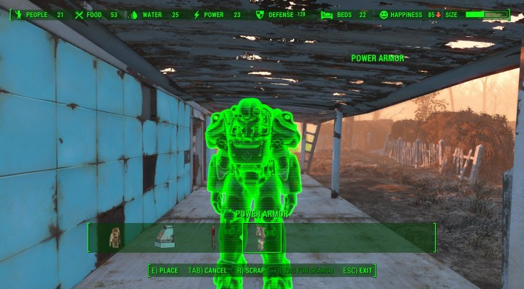 Movable Power Armor