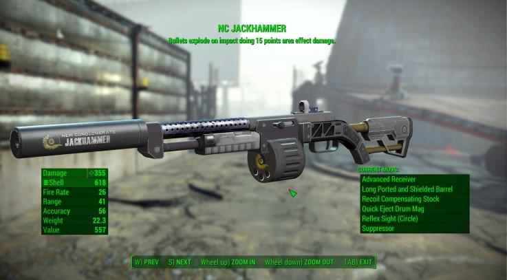 NC Jackhammer Retexture - Combat Shotgun