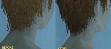 Oni hair re-texture
