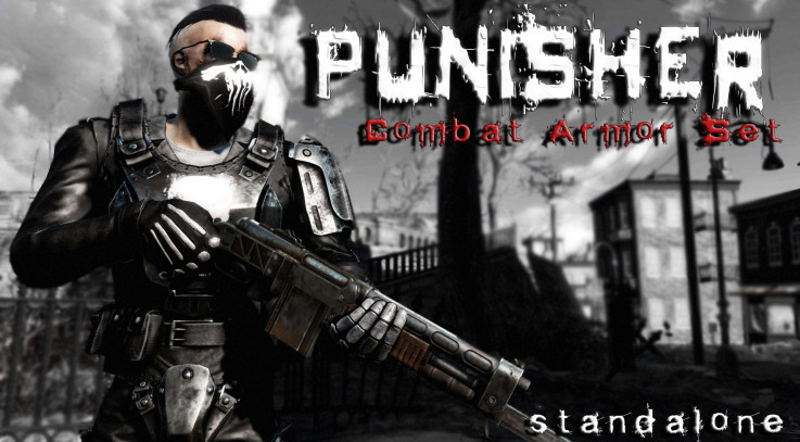 -PUNISHER- SA Combat Armor Set