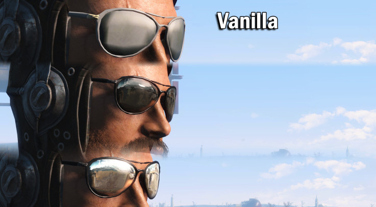 Patrolman sunglasses retexture