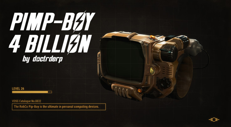 Pimp-Boy 4 Billion (Golden Pip-boy) - WIP