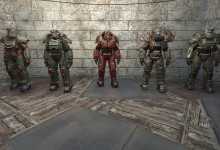 Power Armor Animation Changes