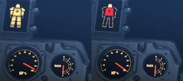Power Armor HUD - Left and Right Indicators3