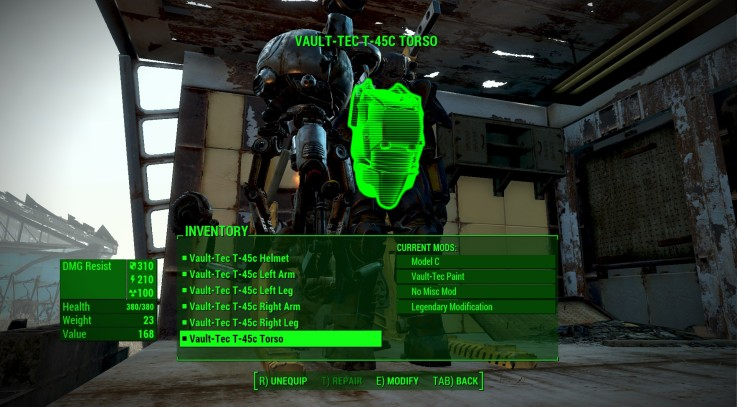 Power Armor Re(balance) 3