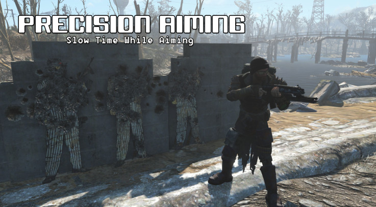 Precision Aiming - Slow Time While Aiming