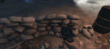 Proper Destructable Sandbags