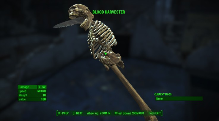 STANDALONE Bone Weapons2