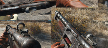 ScratchMade - New Combat Shotgun and Rifle textures2