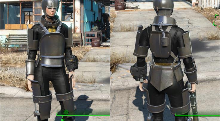 Shadowed Synth Armor