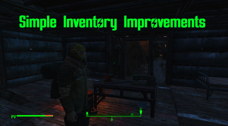Simple Inventory Improvements