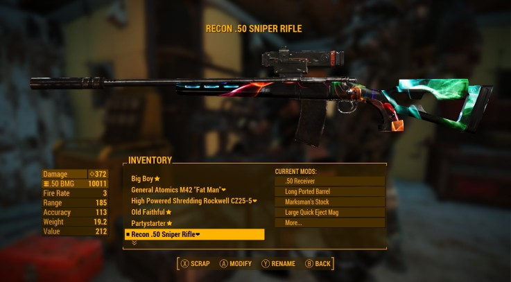 Skull Camo and other Tactical stock colors 2
