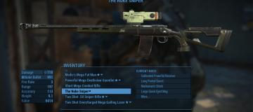 The Nuke Rifle