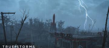 True Storms - Wasteland Edition (Thunder-Rain-Weather Redone) 1
