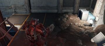 Vault 81 Molerat Disease Immunity with Power Armor and Hazmat 1