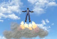 Vault Suit Jetpack Mod