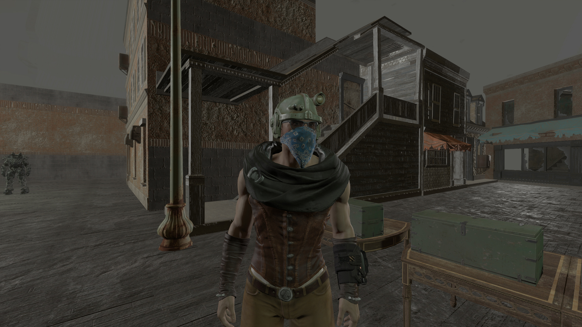 Wasteland Scarf Fallout 4 Fo4 Mods