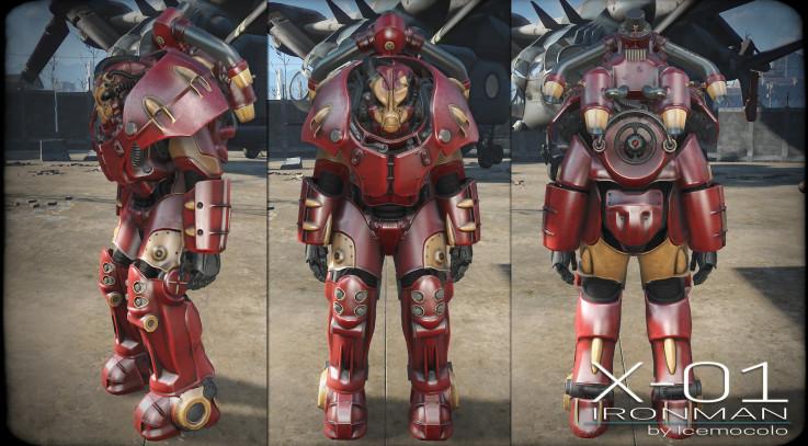 X-01 Ironman Skins - Standalone2