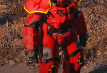 X-01 Power Armour Blood Angel paint job