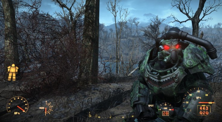 X-01 power armor kryptek mandrake Camo By Radulykan2