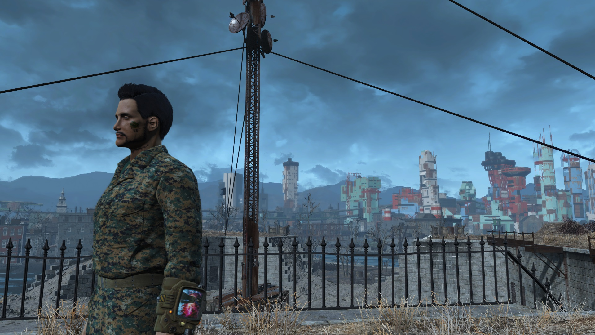 FO 4 MODERN MILITARY CAMOS - Fallout 4 / FO4 mods